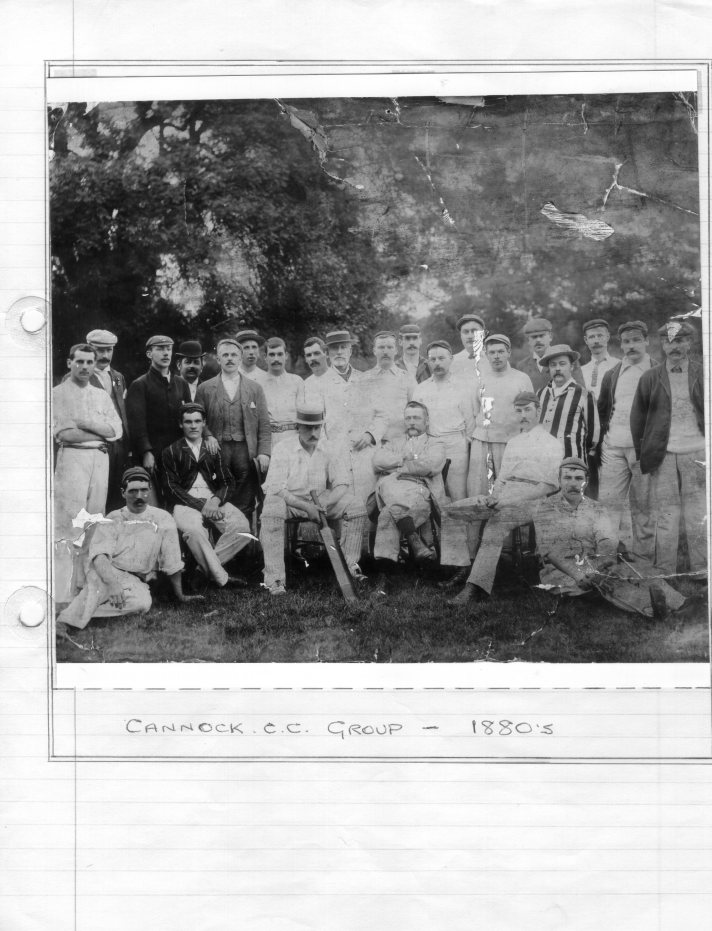 1880s Cannock CC group