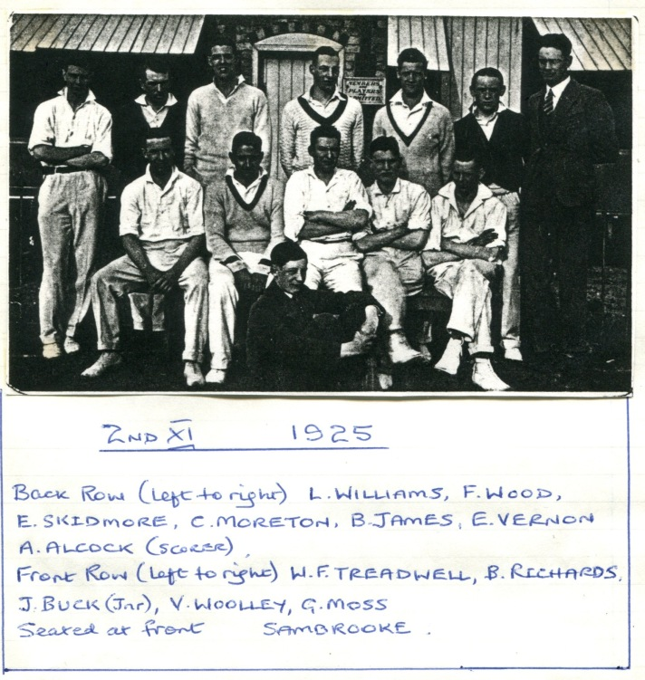 1925 Team 2nds picture